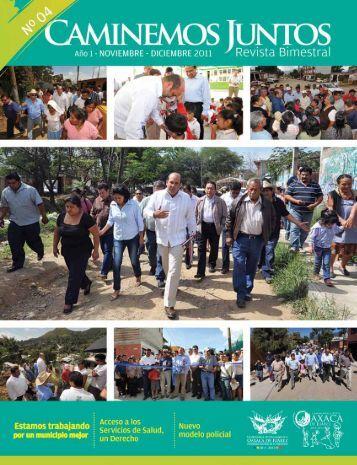 Número 4 noviembre-diciembre 2011 - H. Ayuntamiento de Oaxaca ...