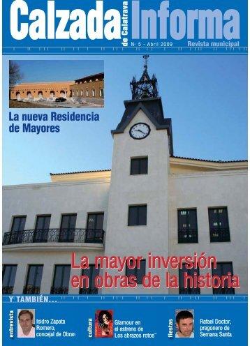 Calzada Informa nº V - Calzada de Calatrava