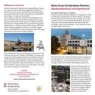 RKK Informations-Flyer für Studenten - Rotes Kreuz Krankenhaus