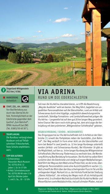 Via adrina - Rothaarsteig