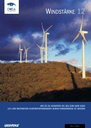 Windstärke 12 - Wie es zu schaffen ist, bis zum Jahr ... - Greenpeace
