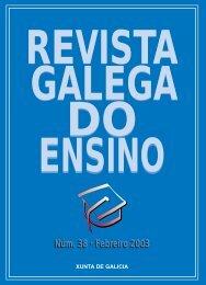 R evista G alegado E nsino . Núm. 38.Febreiro ... - Xunta de Galicia