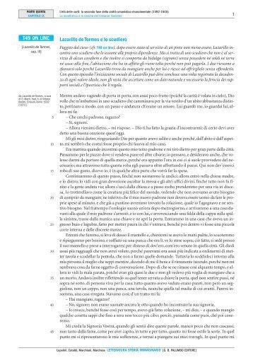 Lazarillo de Tormes e lo scudiero T49 ON LINE - Palumbo Editore