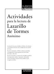 Actividades de lectura – LAZARILLO DE TORMES