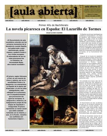 La novela picaresca en España - Diario Colatino