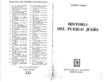 Historia del Pueblo Judío, por James Parkes.PDF - El Mundo Bíblico