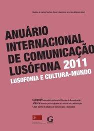 anuário internacional de comunicação lusófona 2011 - Lusocom