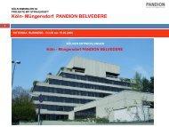 Köln- Müngersdorf PANDION BELVEDERE - Rotonda Business Club