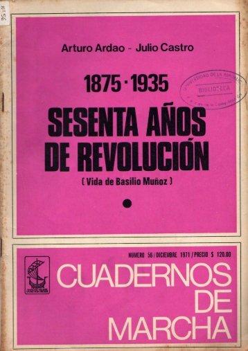 Vida de Basilio Muñoz - Archivo de Prensa