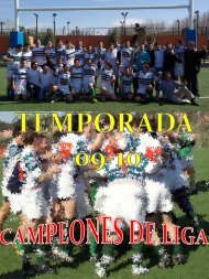 anuario sin cronicas 09-10(1).pdf - Tasman Rugby Boadilla