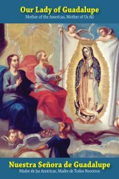 Our Lady of Guadalupe Nuestra Señora de ... - All Saints Press