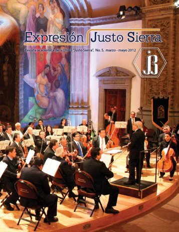 Revista Expresión Justo Sierra No. 5 marzo - ENP 3 - Universidad ...