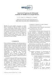 Aspectos de Segurança da Informação em Redes de ... - LIMC