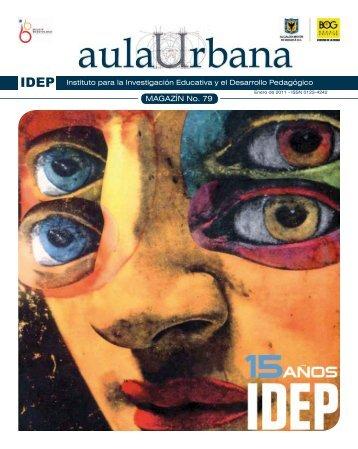 Magazin Aula Urbana Edición numero 79 - Instituto para la ...