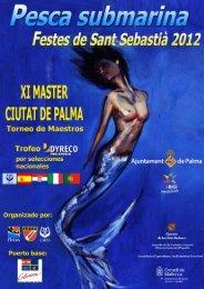 Revista XI Master Ciutat de Palma - Club GEAS