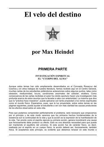 El Velo del Destino en formato PDF - Fraternidad Rosacruz Cristiana