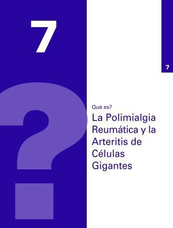 Qué es? La Polimialgia Reumática y la Arteritis de Células Gigantes