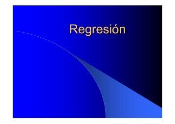 Regresion Presentacion