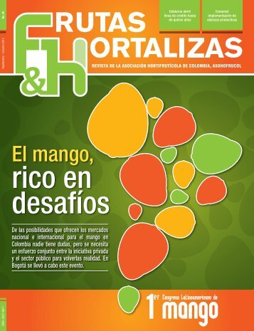 El mango, - Asohofrucol