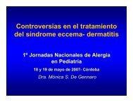 Dermatitis - Sociedad Argentina de Pediatría