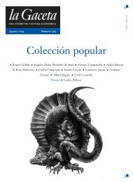 La Gaceta del FCE, núm. 464. Agosto de 2009 - Fondo de Cultura ...