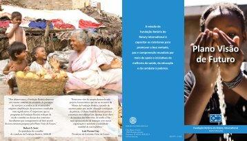 Folheto do Plano Visão de Futuro - Rotary International