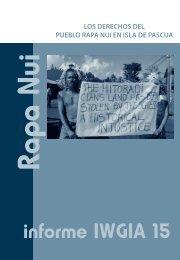 los derechos del pueblo rapa nui en isla de pascua - iwgia