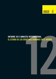 Informe 2012 - Amnesty International