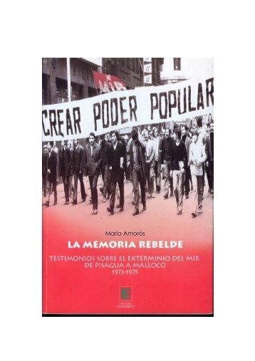 La Memoria Rebelde - Centro de Documentación de los ...