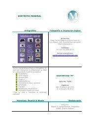 824a413a6821 Empresas M Distrito Federal - Sectur
