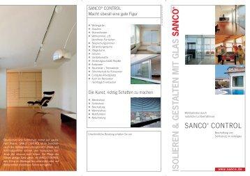 ISOLIEREN & GESTALTEN MIT GLAS SANCO - Amberger ...