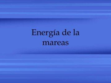 1. Energía de las mareas - CIE
