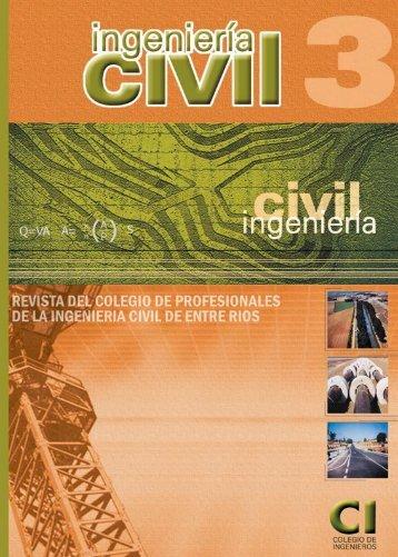 editorial - Colegio de Profesionales Ingenieros Civiles de Entre Ríos
