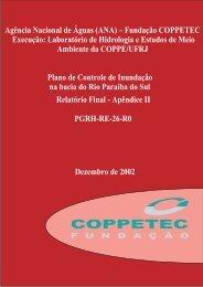 Apêndice II - Laboratório de Hidrologia e Estudos do Meio Ambiente ...