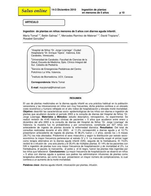tipos de diarrea pediatria pdf