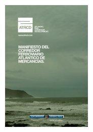MANIFIESTO DEL CORREDOR FERROVIARIO ... - Arc Atlantique