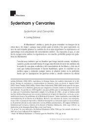Sydenham y Cervantes