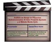 Análisis de Riesgo en Proyectos Subvencionados