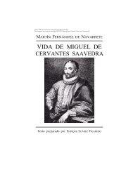 Vida de Miguel de Cervantes - IPFW