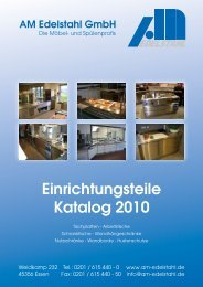 Öffnen - AM Edelstahl GmbH