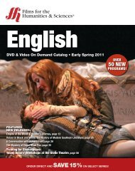 English - Films for the Humanities and Sciences
