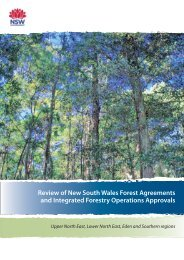 Review of NSW Forest Agreements and IFOAs - Department of ...
