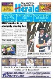SANDF member in for alledgedly shooting boy - Letaba Herald