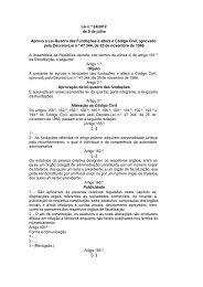 Lei n.º 24/2012 de 9 de julho Aprova a Lei-Quadro das ... - cases