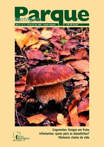 Revista 5 - 48 pags - Parque Biológico de Gaia