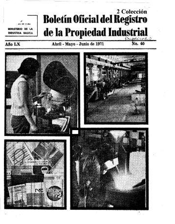 de la Pro~iedad Industrial - Oficina Cubana de la Propiedad Industrial