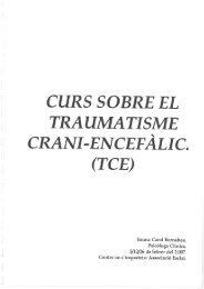 El Traumatismo Cranio Encefàlic - Associació Esclat