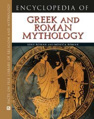 Encyclopedia of Greek and Roman Mythology (Facts on File Library ...