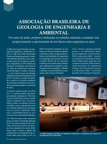 ASSOCIAçãO BRASILEIRA DE GEOLOGIA DE ... - ABGE