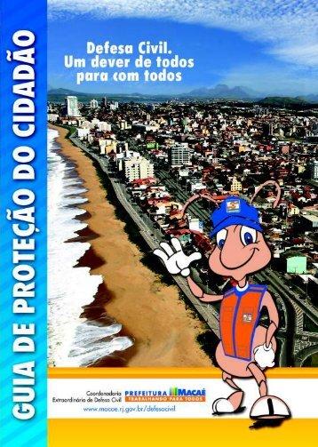 Guia de Proteção do Cidadão - Prefeitura Municipal de Macaé